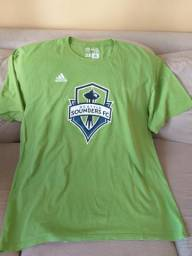 Camiseta Adidas Seattle Sounders da Liga MLS c97dfcb95f5f4