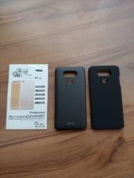 2 capas e Pack películas traseira LG G6