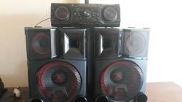 Vendo mini sistem lg 2600w