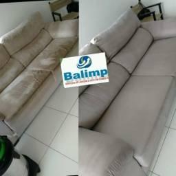 Lavagem a seco de sofá, com especialista
