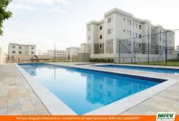 RARO! Apartamento 2 Quartos com Jardim Privativo. Parque Chapada Diamantina MRV
