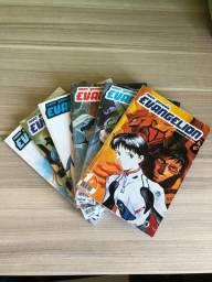 Mangá Evangelion - #1,3,7,8,10 e 12