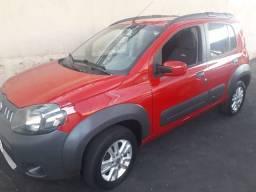 Fiat Uno Way 1.4 Flex Completo 2011 Vermelho 2020 OK