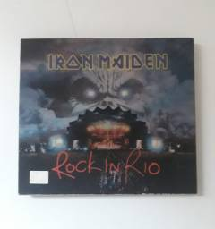 Cd Iron Maiden Rock in rio duplo
