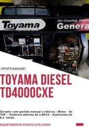 Gerador Toyama Diesel TD4000CXE
