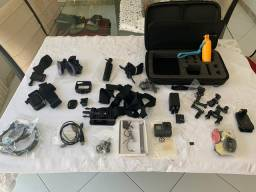 GoPro Hero 5 + kit de acessórios completo