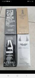 Perfumes - 212, one million, azzaro, invictus