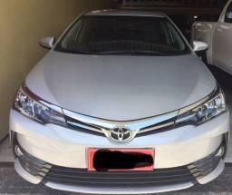 Toyota Corolla GLI 17/18 com opcionais XEI