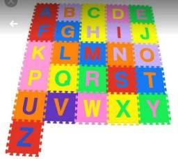 Tapete de Eva Alfabeto 26 placas
