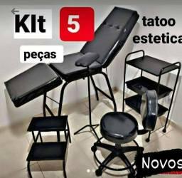 Kit tatuagem 5 peças ..