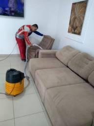 Limpeza e higienização a seco.