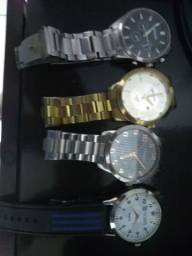 4 relógios de pulso usados lindos