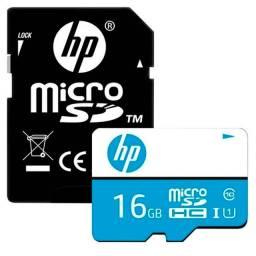 Cartão de Memória Micro SD 16gb Classe 10 HP