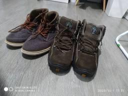 Sapatos VERDE oliva  ou cinza