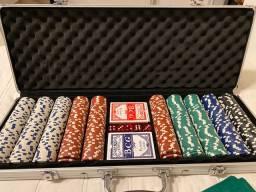 Maleta 500 fichas de poker