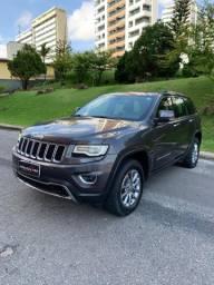 Jeep Grand cherokee 3.6 gasolina Aut 2015 cinza