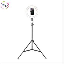 Ring Light para celular com aro de luz 10 polegadas