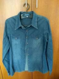 Camisa Jeans Saint John Bay