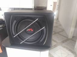 Sub ativo caixa de som