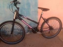 Bicicleta aro 26 estilosa.