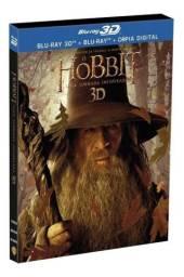 Blu-ray O Hobbit 3d + 2d Uma Jornada Inesperada - 4 Discos<br>