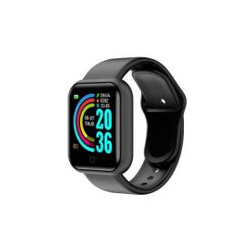 Relogio Inteligente Smartwatch D20 Bluetooth Preto
