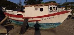 Barco Tipo Baleeira De Fibra