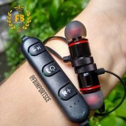 Fone Bluetooth Magnético   Esporte