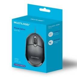 Mouse Usb Óptico Classic Preto Multilaser