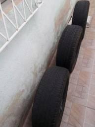 Título do anúncio: Vendo 3 pneus Michelin Duster Oroch