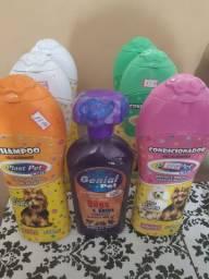 Shampoo e condicionador para cães e  gatos