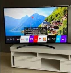 Smart TV 55 4k ultra HD modelo novo da Lg completa nos plásticos