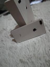 Iphone 8 plus 64 gigas completo semi novo sem marcas de uso