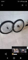 Rodagem completa raio e inox e pneus kenda não perca