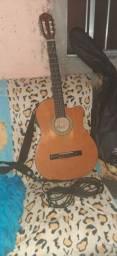 Vendo um lindo violão elétrico da marca GIANNINI