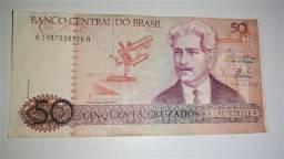 Cédula cinquenta cruzados (Oswaldo Cruz)
