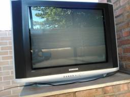Tv Samsung Tubo 29 Polegadas Tela Plana Seminova