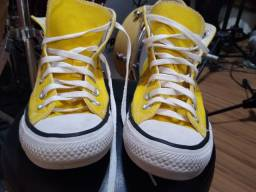 All star botinha amarelo n. 37 perfeito estado