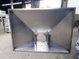 Coifa de Inox 430 medindo 200x150