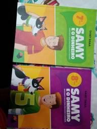 Livros Sammy e o Dinheiro 7° Ano e 8° Ano