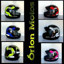 Capacete Moto Protork Automático SM