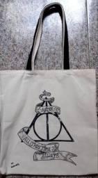 Ecobag Temática Harry Potter e as Relíquias da Morte