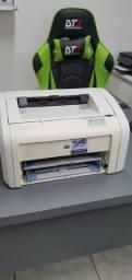 HP 1018 Laser - 10x Sem Juros - Garantia - Toner Novo Incluso - Cabos