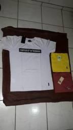 Camisas peruanas embaladas