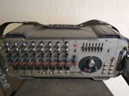 Vendo sistema de áudio e amplificador, bateras