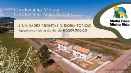 Apartamento à venda com 2 dormitórios em Camobi, Santa maria cod:48905