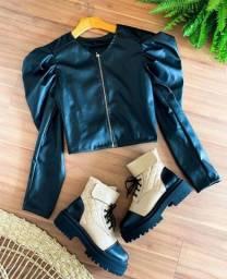 Título do anúncio: Jaqueta couro fake