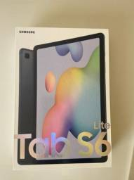 """Tablet Samsung Galaxy S6 Lite 64gb Wi-Fi 4g Tela 10.4"""" Android Octa-Core - Cinza"""