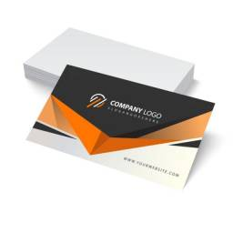 100 cartões de visita personalizados