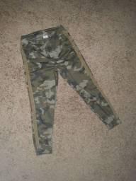 Calça militar infantil Zara boys
